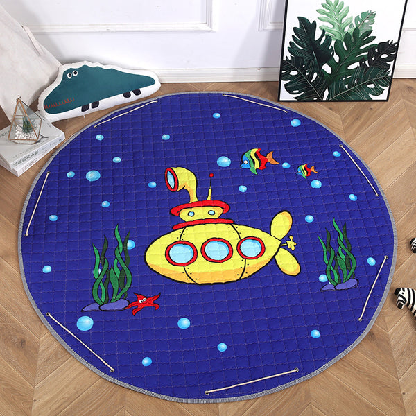 Activity Play Mat - Toy Storage Bag - Submarine - Just Kidding Store