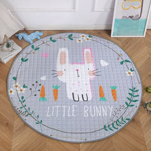 Activity Play Mat Toy Storage Bag - Little Bunny - Just Kidding Store