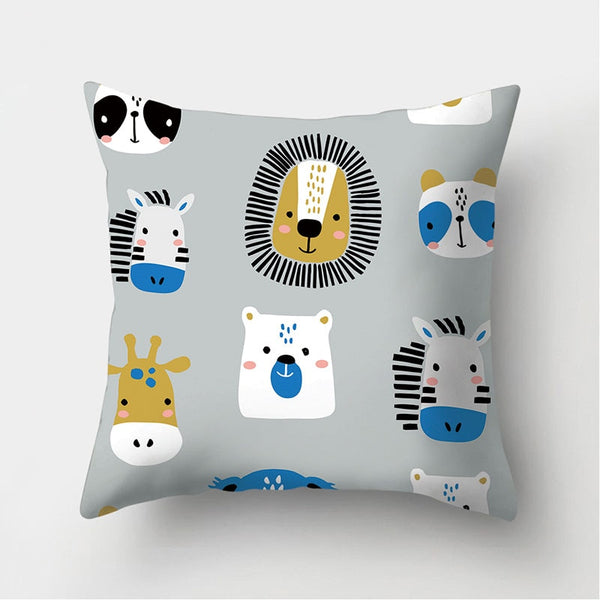 Decorative Cushions Pillowcase Throw Pillow Cover - Just Kidding Store