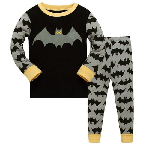 Batman Kids Pajama Set Children Sleepwear - Just Kidding Store
