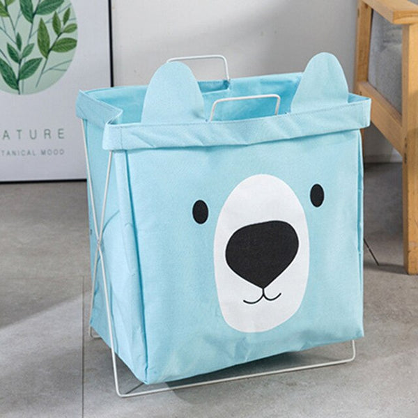 Bear Ears Storage Organizer Folding Laundry Basket - Just Kidding Store