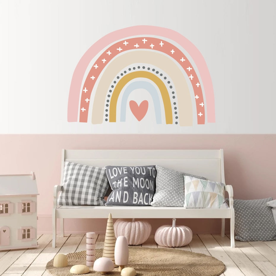 Bohemia Rainbow Wall Decal