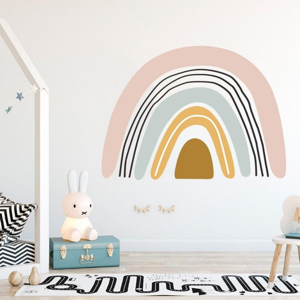 Bohemia Rainbow Wall Decal - Just Kidding Store