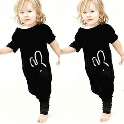 Miffy Rabbit Bunny Baby and Kids Summer Romper - Just Kidding Store