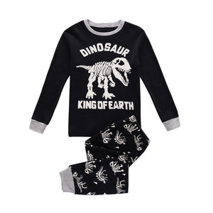 Dinosaur King of Earth Pajama Set - Toddler and Kids - Just Kidding Store