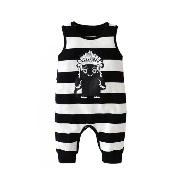 Tribal Monster Summer Romper