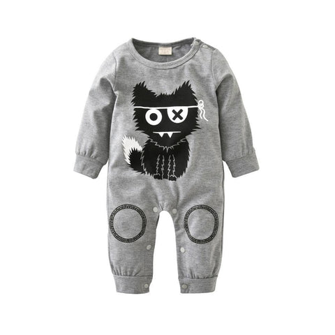 Stray Cat Romper