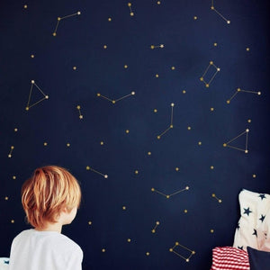 Starry Night Wall Decal - Outer Space Kids Deco - Just Kidding Store