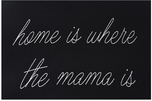 Home Is Where The Mama Is Baby Kids Cotton Blanket  Just Kidding Store