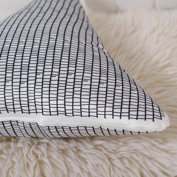 Mountain Peaks Cushion - Nordic Style Pillow