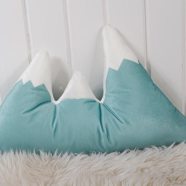 Mountain Peak Cushion - Nordic Pillow - Just Kidding Store