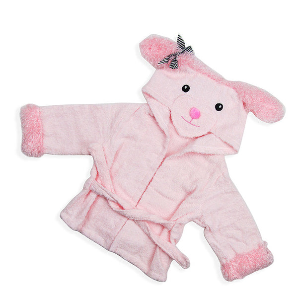 Pink Sheep baby bathrobe - Just Kidding