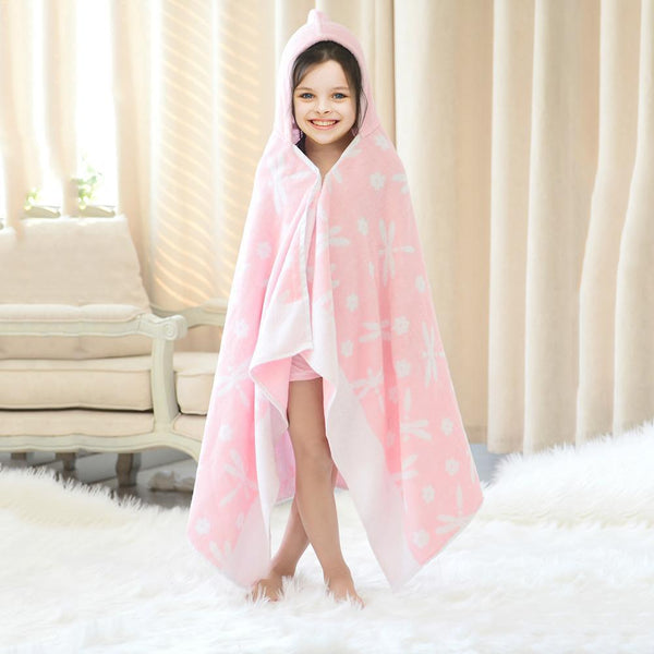 Cotton Bath Towel - Children's Bath Wrap - Just Kidding Store