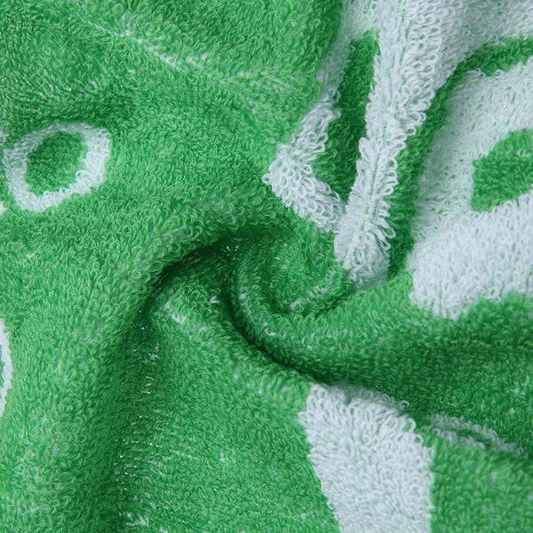 Cotton Bath Towel - Children's Bath Wrap - Green