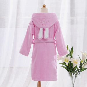 Pink Bunny Kids Bathrobes Nightgown - Just Kidding Store