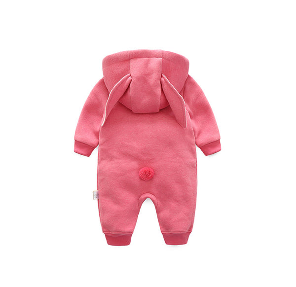 Carrot Hooded Romper