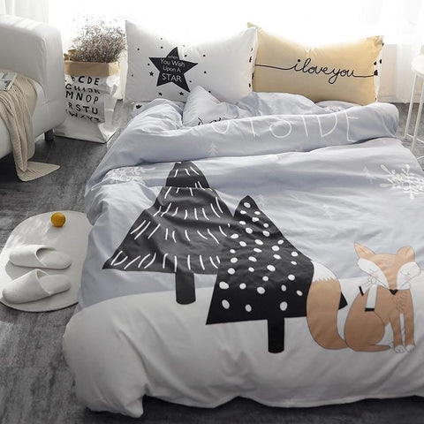 Fox Kids and Teens Bedding Set - Just Kidding Store