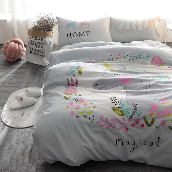 Magical Unicorn Kids and Teens Bedding Set - Just Kidding Store