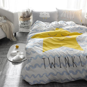 Twinkle Star Kids and Teens Bedding Set - Just Kidding Store