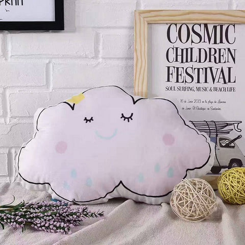 Nordic Style Pillow - Cloud Cushion - Just Kidding Store