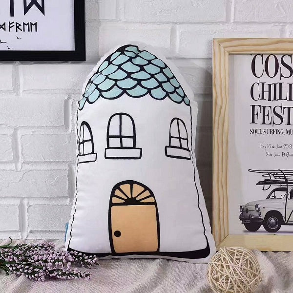 Nordic Style Pillow - House