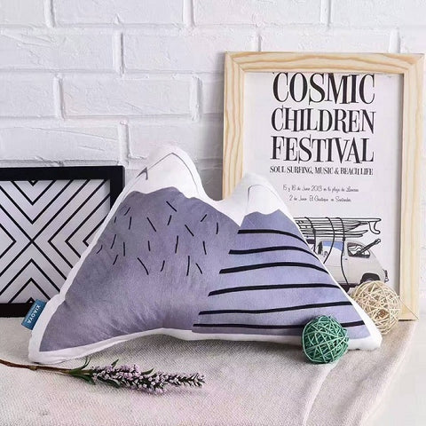 Nordic Style Pillow - Mountain - Just Kidding Store