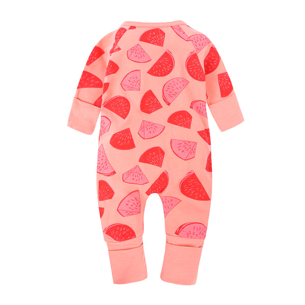 Watermelon Baby Kids Trendy Fashion Romper - Just Kidding Store