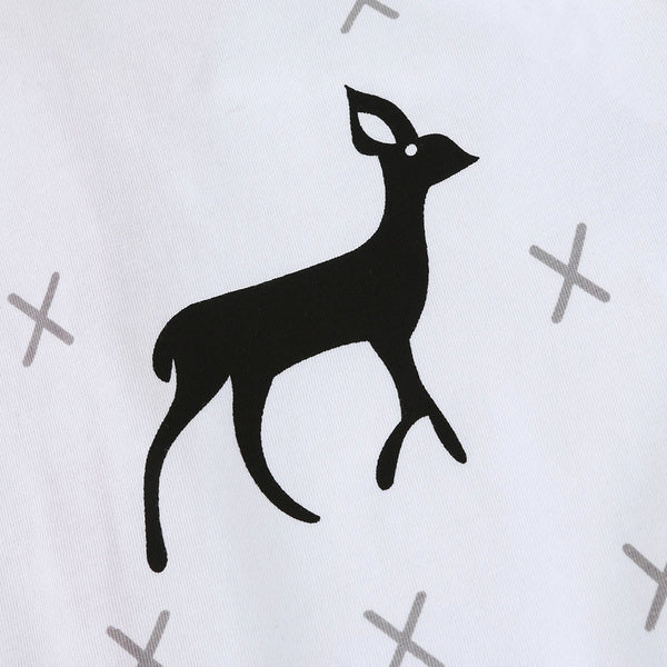 Deer Baby Cotton Romper - Just Kidding Store