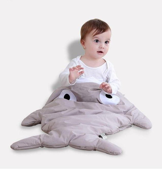 Baby Shark Sleeping Bag -  Cotton Stroller Sack