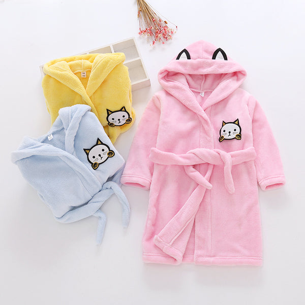 babies and kids bathrobes - Just Kidding