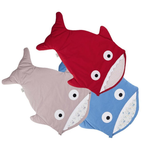 Red Baby Shark Sleeping Bag -  Stroller Sack