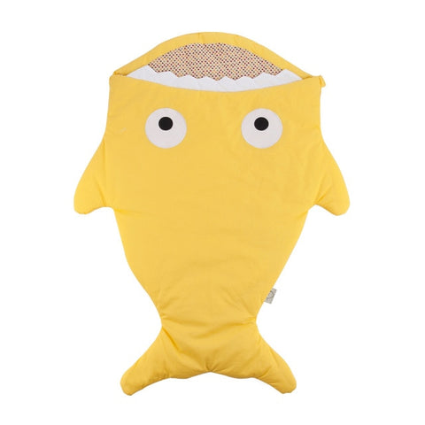 Yellow Baby Shark Sleeping Bag - Stroller Sack
