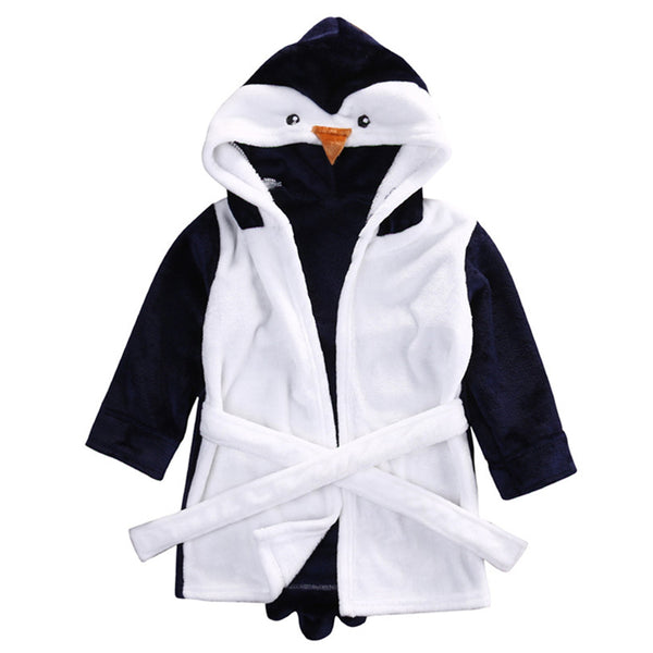 Penguin babies and kids bathrobe nightgown - Just Kidding Store