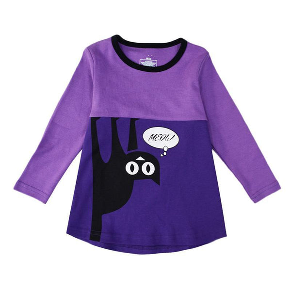Black Cat Pajama Set - Toddler and Kids - Just Kidding Store