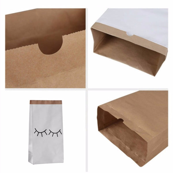 Large Kraft Paper Bags - Toy Storage