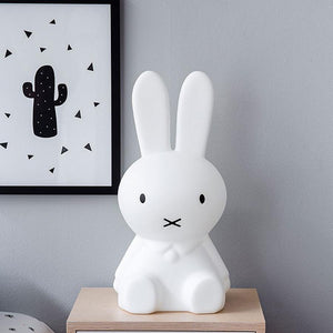 Miffy Lamp - Kids Bunny Night Light - Table Floor Lamp  - Just Kidding Store