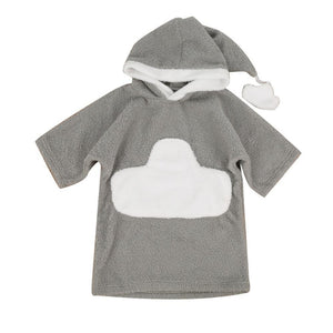 White Cloud Baby and Kids Bathrobe - Just Kidding Store