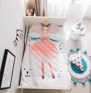 Kids Sleeping Bag - Dreamy Ballerina Sleeping Sack - Just Kidding Store