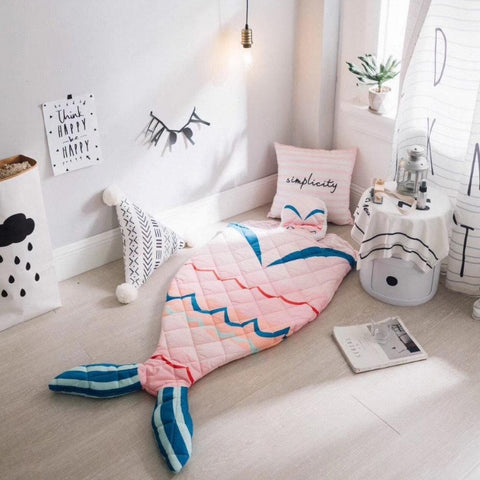 Kids Sleeping Bag -Mermaid Sleeping Sack - Just Kidding Store