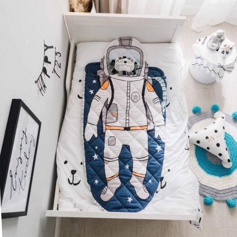 Kids Sleeping Bag - Astronaut - Just Kidding Store