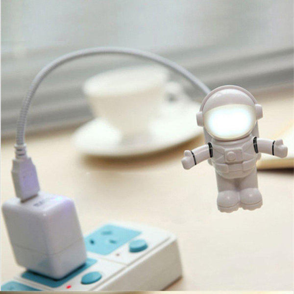 Astronaut USB LED Night Light For Computer - Spaceman PC Lamp