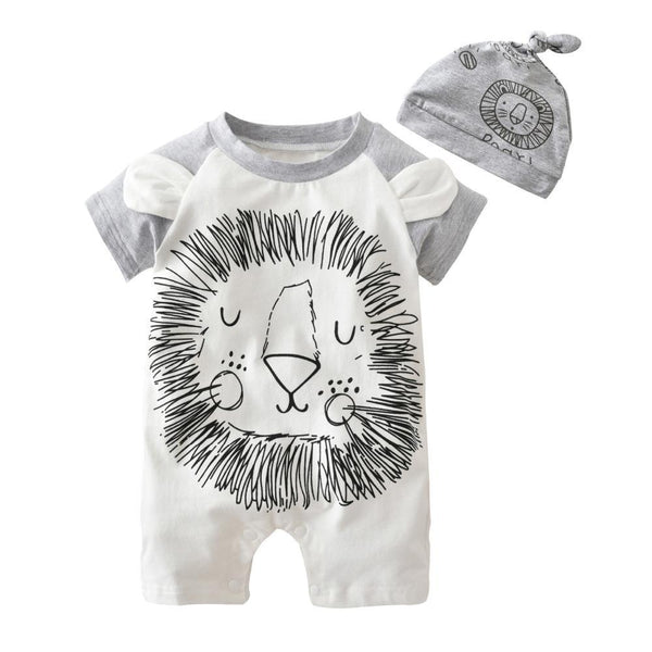 Sleepy Lion Baby and Toddler Trendy Romper - Just Kidding Store