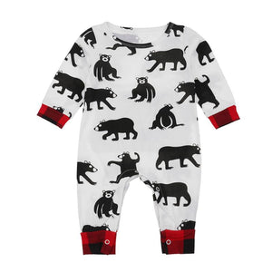 Bear Romper -Trendy Baby Kids Jumpsuits - Just Kidding Store