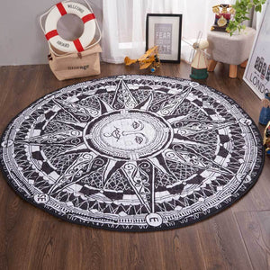 Activity Play Mat - Toy Storage - Boho Sun - Just Kidding Store