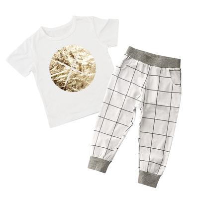 Gold Dot Toddlers and Kids Pajama Set - Just Kidding Store