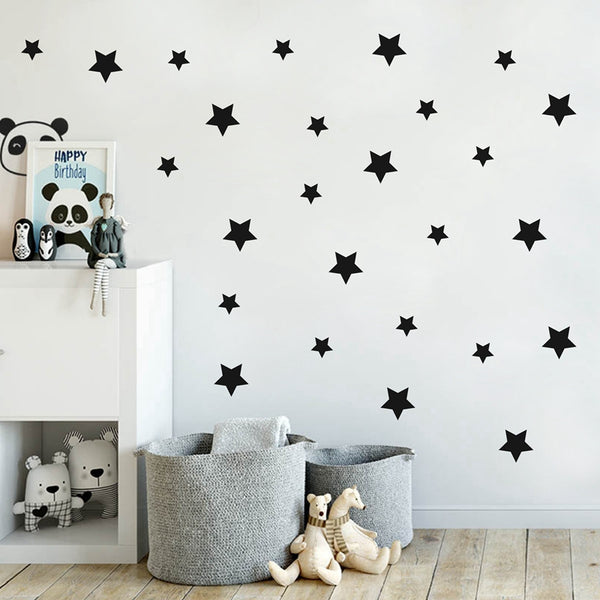 All Over Stars Wall Decal - Just Kidding Store
