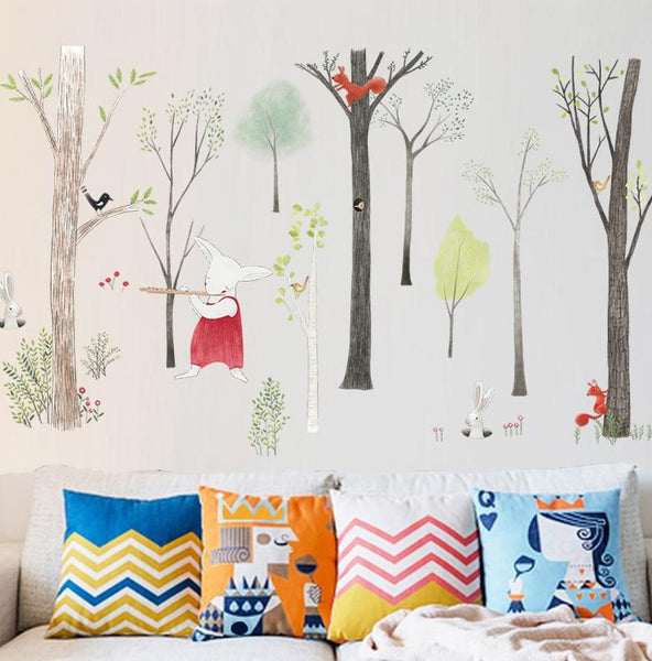 Nordic Forest Wall Decal