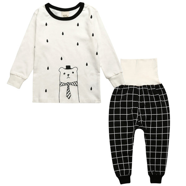 Little Bear Sleepwear Set - Kids Pajamas - Just Kidding Store