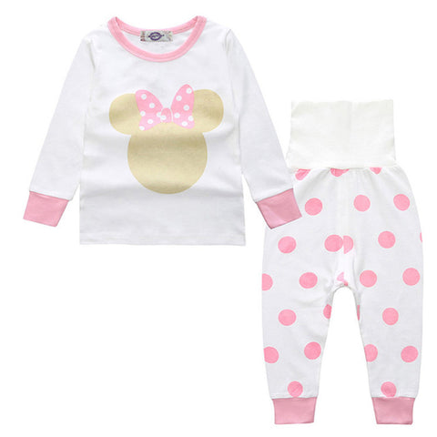 Sleepwear Set - Girls Pajamas - Minnie - Just Kidding Store