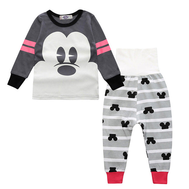 Sleepwear Set - Kids Pajamas - Minnie - Just Kidding Store